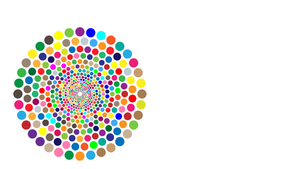 Multicoloured circles